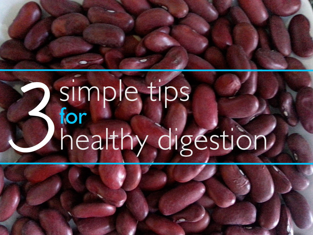 3 Simple Tips for Healthy Digestion Image